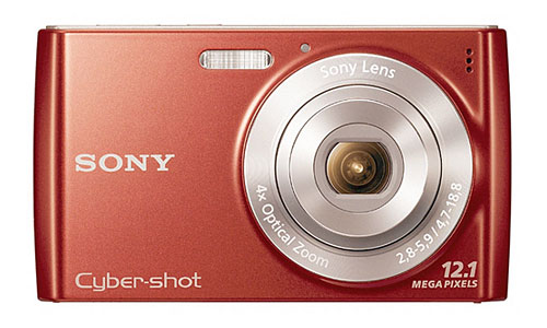 Sony DSC-W510 Cyber-Shot Pink - купить фотоаппарат Сони по лучшей цене в Плеер.ру.