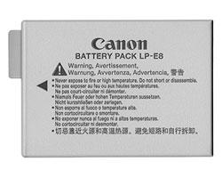 Canon LP8  для Canon EOS 600D