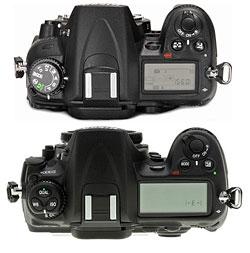 Сравнение Nikon D300 и Nikon D7000